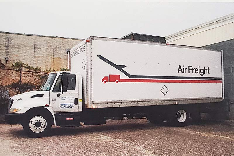 Air Freight pickup