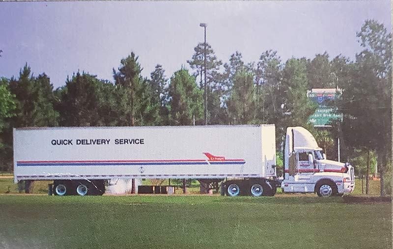 Quick Delivery Service trailer